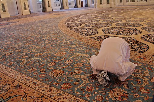 Man Praying Ramadan