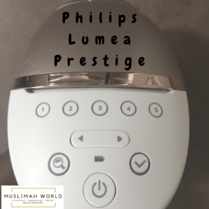 Philips Lumea Prestige Settings
