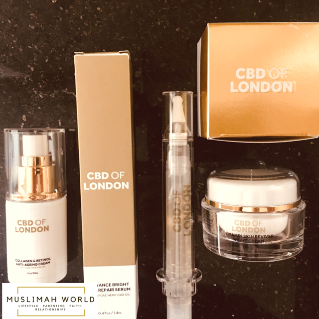 CBD of London Skincare Range - Muslimah World
