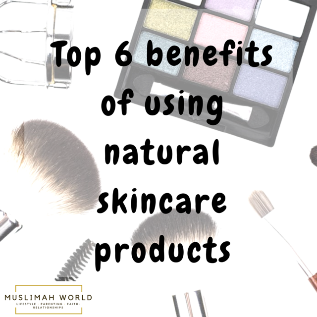 6 Natural skincare benefits