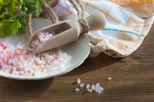 Himalyan salt to water for hydration