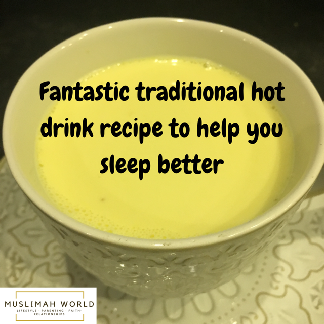 Fantastic traditional hot drink recipe to help you sleep better